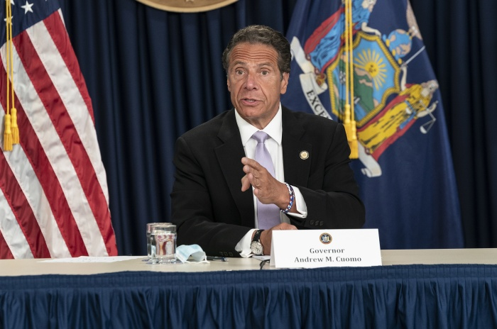 Cuomo to Visitors To NYS: Self -Quarantine Or Else!