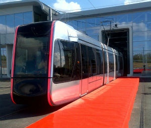 First Citadis tramset for the Tours metropolitan area is unveiled