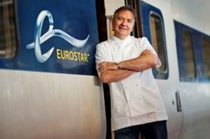 Raymond Blanc takes over as Eurostar culinary director