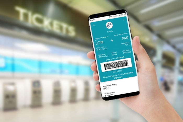 e5b168715c0a Eurostar launches paperless tickets with Google Pay