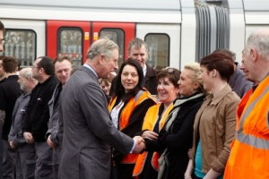 Bombardier welcomes HRH The Prince of Wales to its Derby, UK Site