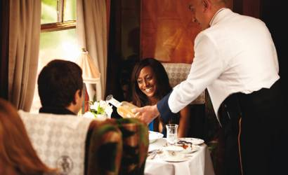 A culinary journey aboard the British Pullman in 2014