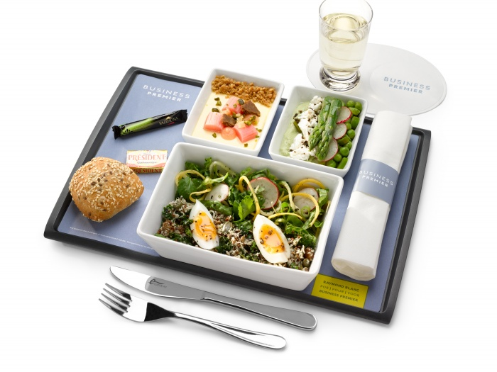Eurostar launches refreshed menu for national vegetarian week