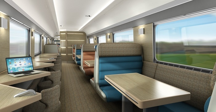 New carriages set to debut on Caledonian Sleeper