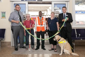 New waiting room and retail unit opens at Clapham Station