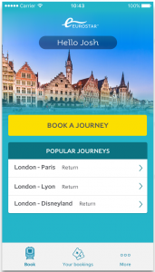 Eurostar brings Amazon Prime to new app