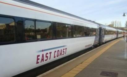 East Coast reveals surge in passengers