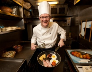 East Midlands Trains MD turns chef for railway children charity