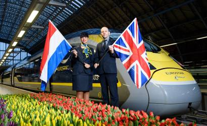 Eurostar reports busiest ever year following Amsterdam launch