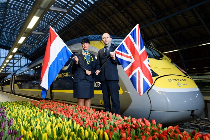 Eurostar tickets to Amsterdam go on sale