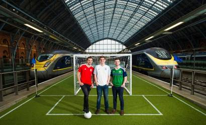 Euro 2016: Eurostar rolls out 'green carpet' for football fans