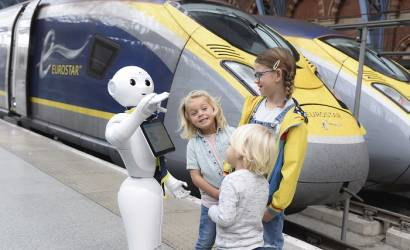 Pepper joins Eurostar team at St. Pancras in London