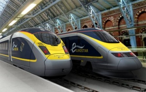 Eurostar celebrates 20th anniversary with unveiling of new e320 train