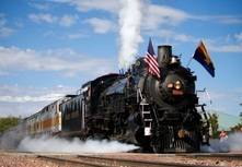 "The Grand Canyon Railway brings back ""Green Steam"" in 2014"