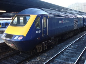 FirstGroup buoyed by UK rail operations