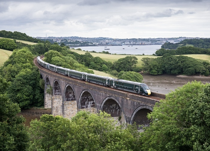 First Intercity Express runs to Cornwall on Great Western Railway