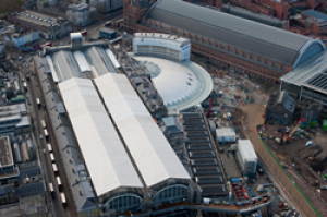 Counting the days to the opening of King's Cross Station