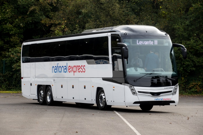 National Express unveils new Caetano Levante III