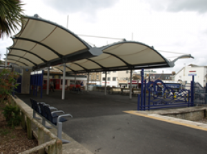 New look for Newquay station