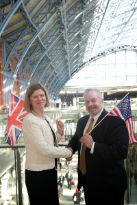 St Pancras International twins with Grand Central Terminal New York