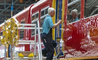 Unique train paint depot opens in Bournemouth UK