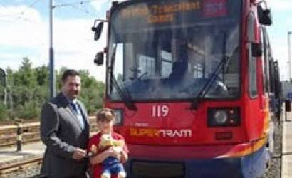 Stagecoach Supertram announces British Transplant Games partnership