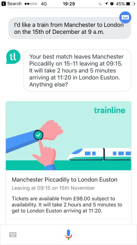 Trainline launches new voice app for Google Assistant ...