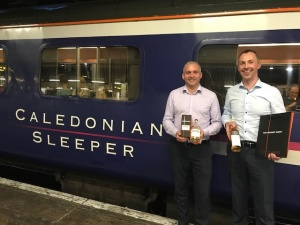 Caledonian Sleeper invites The Whisky Shop on-board