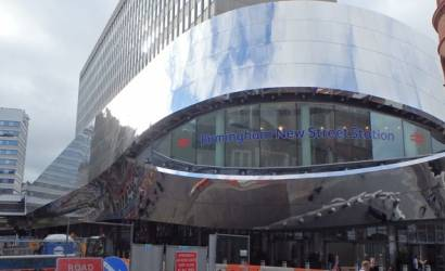 Birmingham New Street station to feature state-of-the-art external advertising