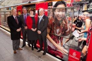 Emirates takes over Newcastle Tyne and Wear Metro