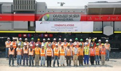 Etihad Rail passes significant safety milestone