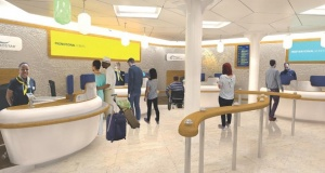 Eurostar opens new ticket office at St Pancras