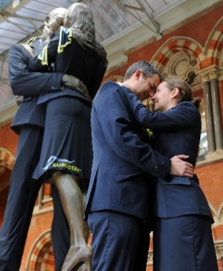 Eurostar's new uniforms make an impression at St Pancras