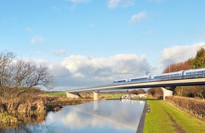 UK government unveils proposals for HS2 rail project