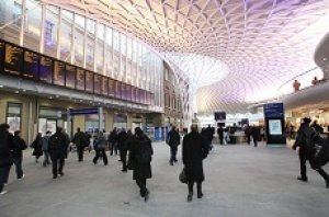 Revamped London's King's Cross station provides double boost for economy