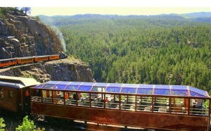Durango, Colorado zipline introduces observation train car seating
