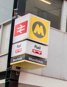 Passengers reminded to check before they travel through Moorfields station