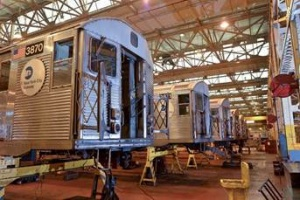 Oldest MTA New York City transit subway cars getting final makeover