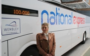 National Express receives 100,000 facebook likes