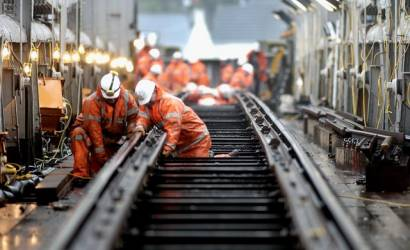 Vital weekend engineering works to keep Scotland's railway moving