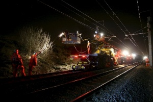 Temporary road closures as £400m electrification project enters Chorley and Bolton