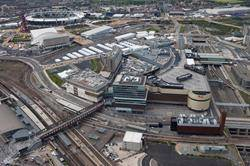 New aerial photography shows changing London stations