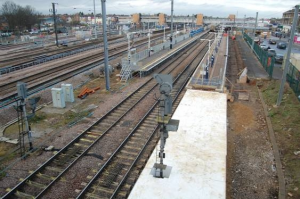 Polystyrene platform steals the show at Peterborough