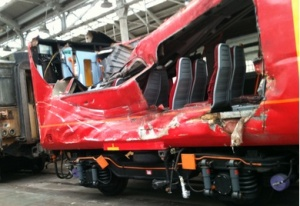 South West Trains gets damaged train back after £1.6M rebuild
