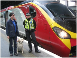Virgin Trains supports guide dog training