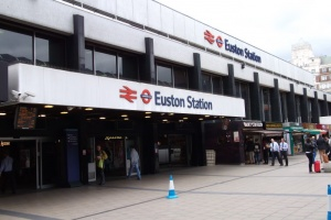 London Euston first class set for refurb