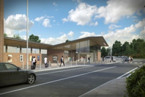 Plans revealed for new station at Wokingham