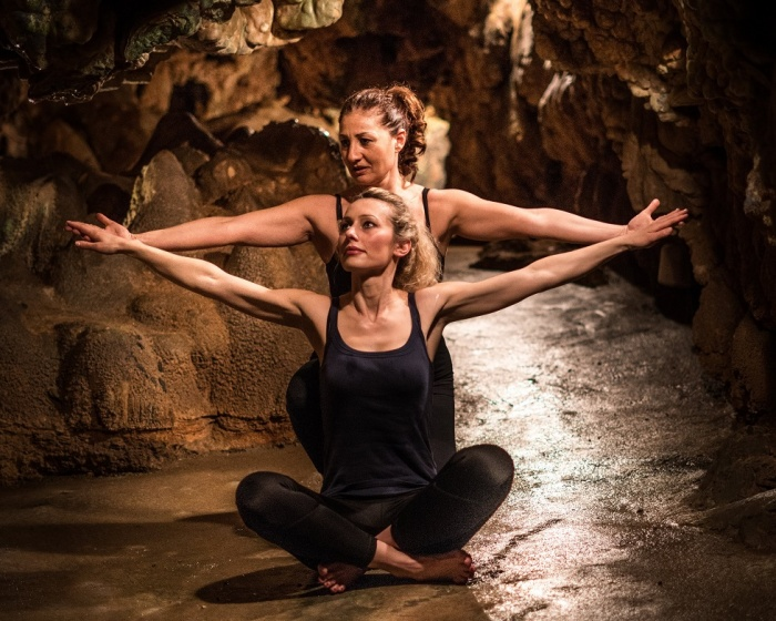 Grotta Giusti unveils new thermal yoga offering