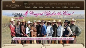 "The Lodge & Spa at Brush Creek Ranch announces ""Cowgirl up for the Cure"" weekend"