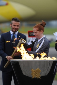 Olympic Torch begins UK tour